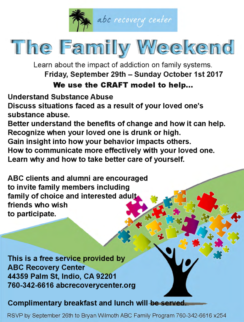 The Family Weekend - ABC Recovery Center